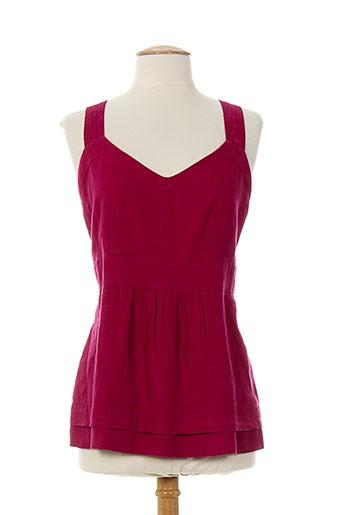 atika chemises femme de couleur rouge