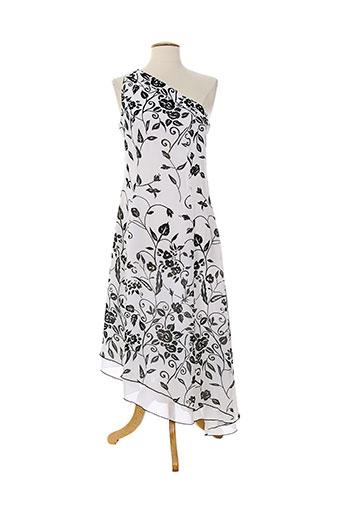 babouchka robes et longues femme de couleur blanc