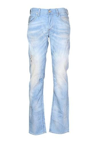 meltin et pot jeans et coupe et droite homme de couleur bleu