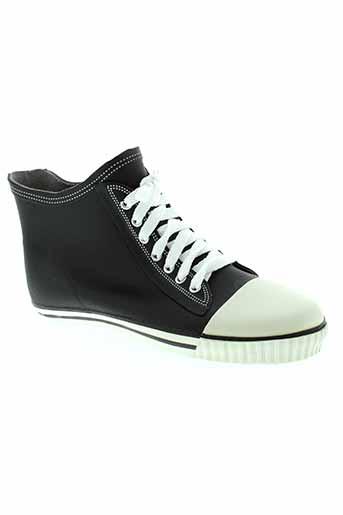 no et blues boots femme de couleur noir
