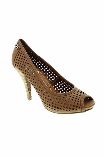 xti escarpins femme de couleur marron