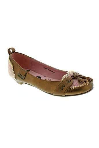 lollipops chaussures fille de couleur marron