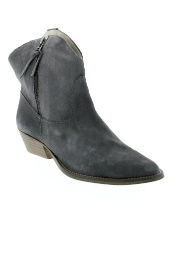ilario et ferucci boots femme de couleur gris