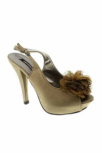 arian chaussures femme de couleur marron