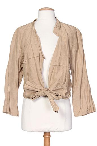 bellocoton vestes femme de couleur beige