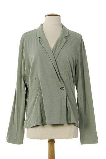 lunn vestes femme de couleur vert