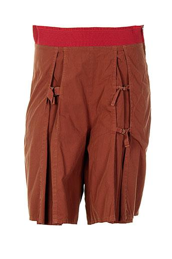 bellocoton shorts / bermudas femme de couleur rouge