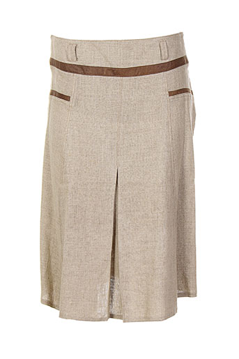 cinoche jupes femme de couleur beige