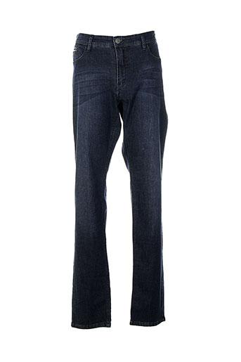 delahaye jeans femme de couleur bleu