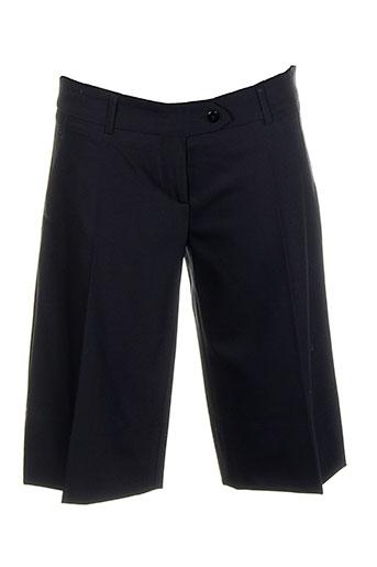 les petites collections shorts / bermudas femme de couleur noir