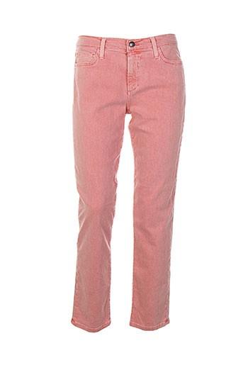 joe s pantalons femme de couleur rose
