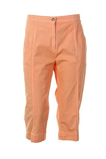 france et rivoire corsaire femme de couleur orange