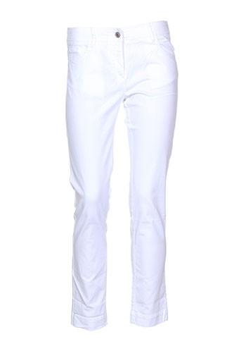 sessun pantalons et decontractes femme de couleur blanc