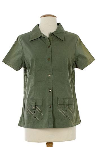les marins de jac jac chemises femme de couleur vert