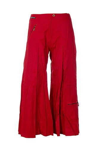des filles a la vanille pantacourts femme de couleur rouge