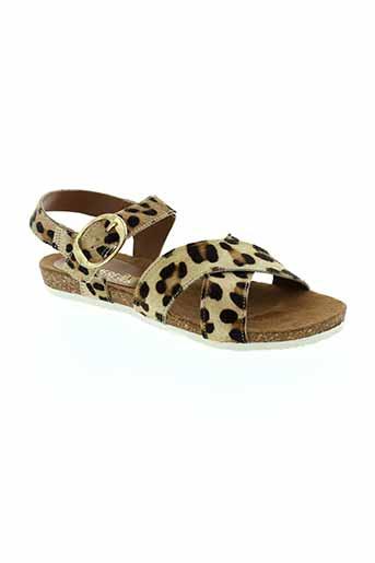 ephemere et for et ever sandales et nu et pieds femme de couleur beige