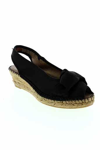 emma chaussures femme de couleur noir