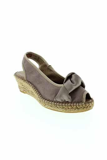 emma chaussures femme de couleur beige
