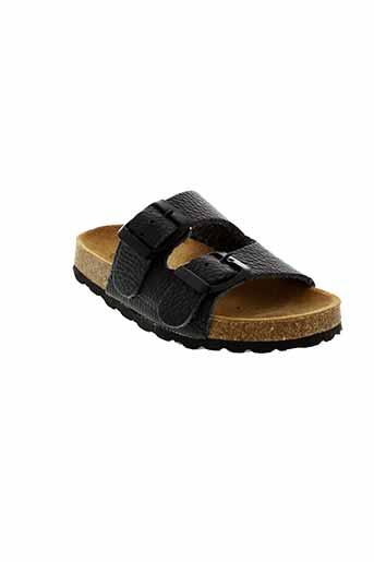 dkr chaussures fille de couleur noir
