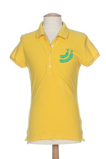 jn-joy t-shirts femme de couleur jaune