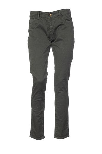 tiffosi pantalons femme de couleur vert
