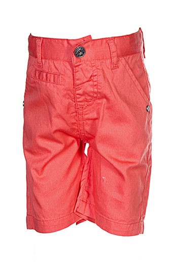 3 et pommes bermudas garcon de couleur orange (photo)