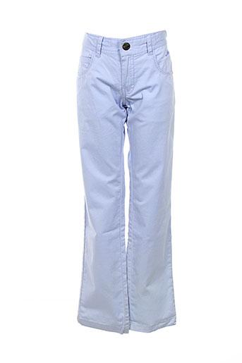 nukutavake pantalons et decontractes fille de couleur bleu