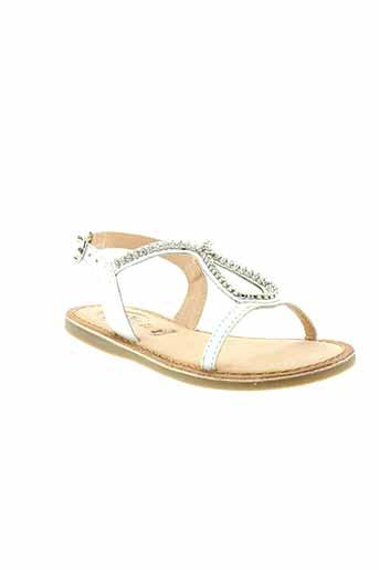 gioseppo et kids sandales et nu et pieds fille de couleur blanc