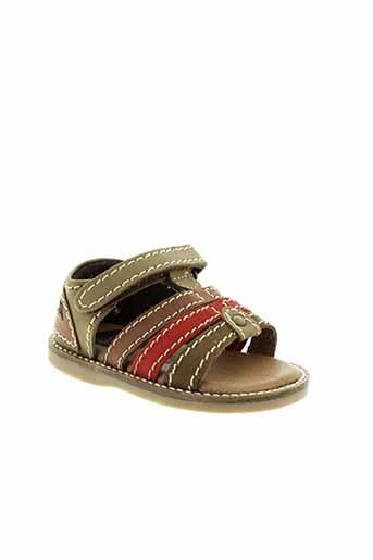 gioseppo chaussures garçon de couleur vert