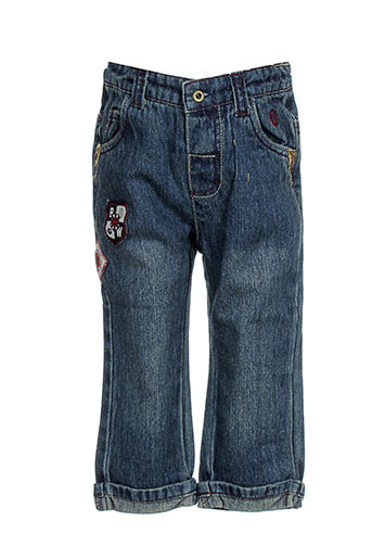 black wellis jeans garçon de couleur bleu