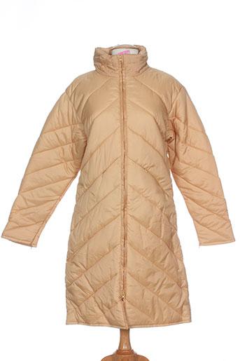 gi and jo manteaux femme de couleur beige