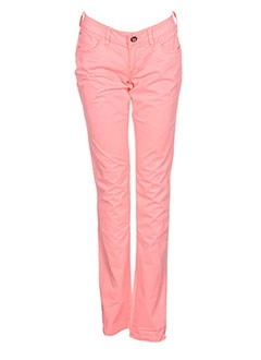 Pantalon casual orange TEDDY SMITH pour fille