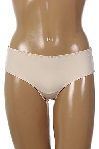 eclizia et by et lilly slips et culottes femme de couleur beige
