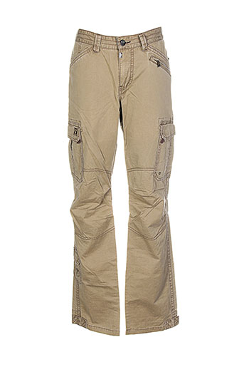 timezone pantalons et decontractes homme de couleur beige