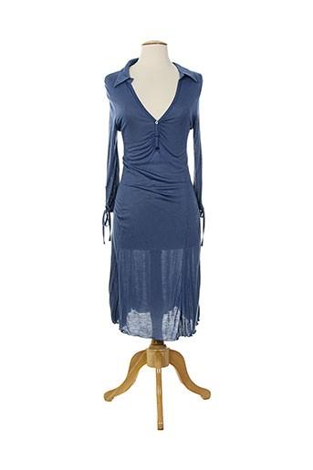 loona robes femme de couleur bleu