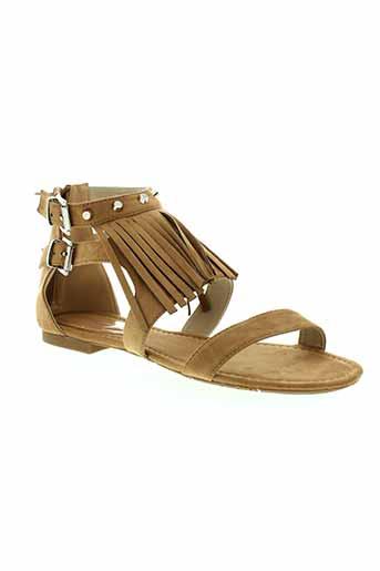 francesco milano chaussures femme de couleur marron
