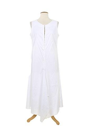ana nonza robes femme de couleur blanc