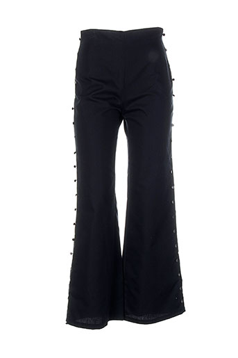 les soleils d'arles pantalons femme de couleur noir