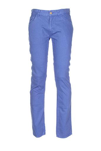 gant pantalons et decontractes homme de couleur bleu