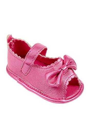 absorba sandales et nu et pieds fille de couleur rose