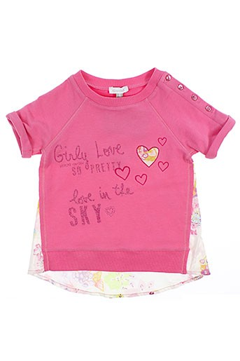 absorba tuniques fille de couleur rose (photo)