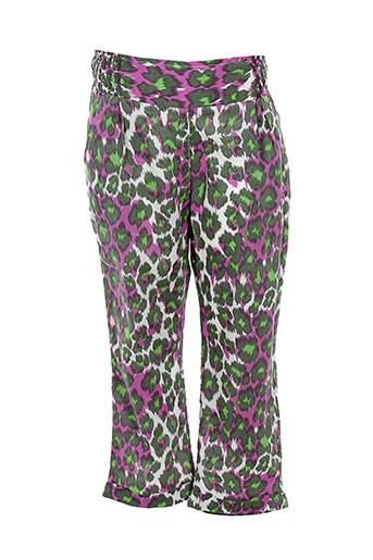 confetti pantalons et decontractes fille de couleur vert