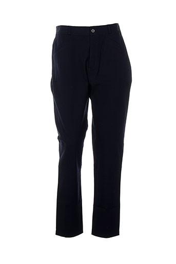 ev pantalons femme de couleur bleu