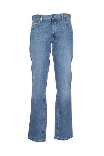 alberto jeans homme de couleur bleu