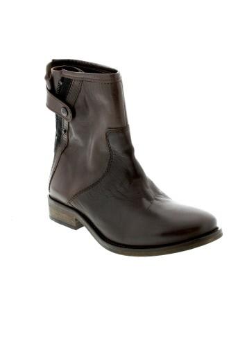 ippon et styl boots femme de couleur marron