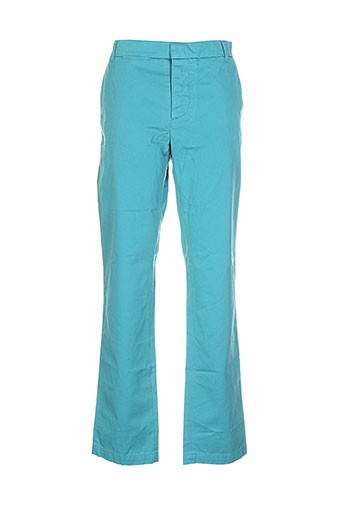 band of outsiders pantalons homme de couleur bleu