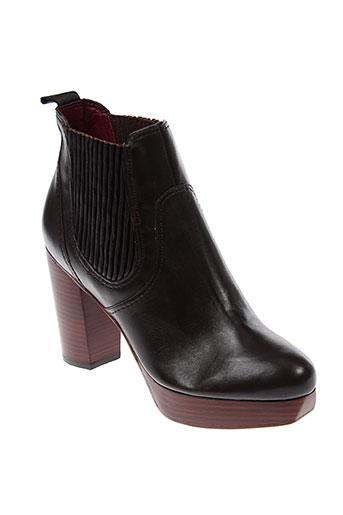 marc et jacobs boots femme de couleur marron