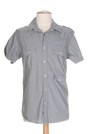 freesoul chemises homme de couleur gris