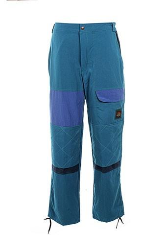 cosserat pantalons homme de couleur bleu
