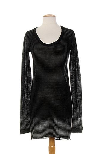 hich use tuniques femme de couleur gris